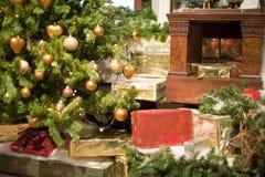 σπίτι Χριστουγέννων στοκ εικόνα με δικαίωμα ελεύθερης χρήσης