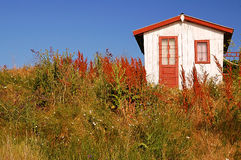 σπίτι ψαράδων παλαιό Στοκ εικόνα με δικαίωμα ελεύθερης χρήσης