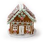 Σπίτι ψωμιού πιπεροριζών Στοκ εικόνες με δικαίωμα ελεύθερης χρήσης