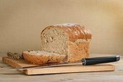 σπίτι ψωμιού που γίνεται Στοκ Φωτογραφία