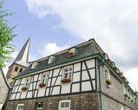 Σπίτι ύφους Tudor Στοκ Εικόνες