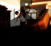 Σπίτι 23 φαντασμάτων διανυσματική απεικόνιση