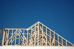 σπίτι 3 κατασκευής Στοκ Εικόνα