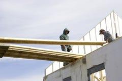 σπίτι 3 κατασκευής Στοκ εικόνες με δικαίωμα ελεύθερης χρήσης