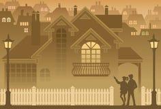 σπίτι διανυσματική απεικόνιση