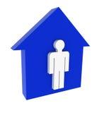 σπίτι 6 διανυσματική απεικόνιση