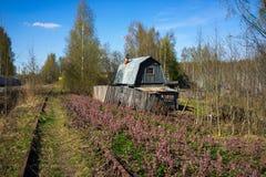 Σπίτι Abadoned Στοκ Φωτογραφίες