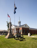 Σπίτι Appomattox Βιρτζίνια Επαρχιακού Δικαστηρίου Στοκ εικόνα με δικαίωμα ελεύθερης χρήσης