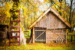 Σπίτι Autum Στοκ Εικόνες