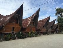 Σπίτι Batak Στοκ Εικόνες