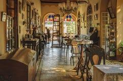 Σπίτι Braganza Pereira Menezes σε Goa, Ινδία Στοκ εικόνα με δικαίωμα ελεύθερης χρήσης