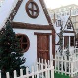 Σπίτι Chritsmas Στοκ φωτογραφία με δικαίωμα ελεύθερης χρήσης