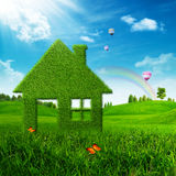 Σπίτι Eco. Στοκ φωτογραφίες με δικαίωμα ελεύθερης χρήσης