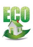 σπίτι eco Στοκ Εικόνα