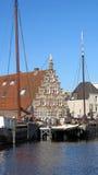 Σπίτι Gabel στο Λάιντεν Οι Κάτω Χώρες Στοκ Εικόνες