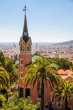 Σπίτι Gaudis στη Βαρκελώνη Στοκ Εικόνες