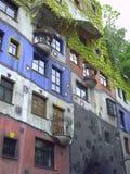 Σπίτι Hundertwasser στη Βιέννη Αυστρία στοκ φωτογραφίες