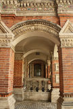 σπίτι igumnov Μόσχα λεπτομέρεια&sigm Στοκ εικόνα με δικαίωμα ελεύθερης χρήσης