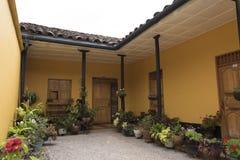 Σπίτι Jardin Στοκ Εικόνες