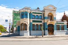 Σπίτι Kurlina ` s μουσείων της Samara στη θερινή ηλιόλουστη ημέρα Στοκ φωτογραφίες με δικαίωμα ελεύθερης χρήσης