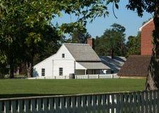 Σπίτι McLean στο εθνικό πάρκο σπιτιών δικαστηρίου Appomattox Στοκ εικόνα με δικαίωμα ελεύθερης χρήσης