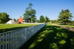 Σπίτι McLean στο εθνικό πάρκο σπιτιών δικαστηρίου Appomattox Στοκ φωτογραφία με δικαίωμα ελεύθερης χρήσης