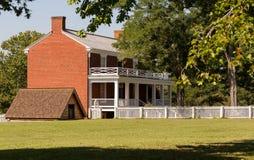 Σπίτι McLean στο εθνικό πάρκο σπιτιών δικαστηρίου Appomattox Στοκ Φωτογραφίες