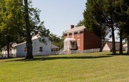 Σπίτι McLean στο εθνικό πάρκο σπιτιών δικαστηρίου Appomattox Στοκ Εικόνες