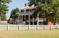 Σπίτι McLean στο εθνικό πάρκο σπιτιών δικαστηρίου Appomattox Στοκ Φωτογραφία
