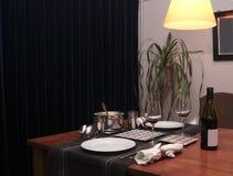 σπίτι mealtime στοκ εικόνες