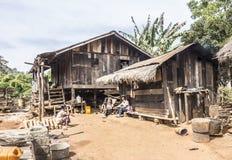 Σπίτι Padaung Στοκ φωτογραφία με δικαίωμα ελεύθερης χρήσης
