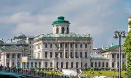 Σπίτι Pashkov στη Μόσχα Στοκ φωτογραφία με δικαίωμα ελεύθερης χρήσης