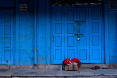 Σπίτι Pushkar στοκ φωτογραφία με δικαίωμα ελεύθερης χρήσης