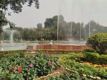 Σπίτι rastrapati κήπων Κα Mughal στοκ φωτογραφία με δικαίωμα ελεύθερης χρήσης