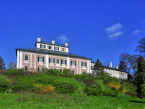 Σπίτι Ratiborice φέουδων Στοκ φωτογραφία με δικαίωμα ελεύθερης χρήσης