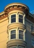 σπίτι SAN Francisco βικτοριανό Στοκ Εικόνα
