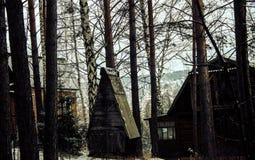 σπίτι scary Στοκ Εικόνες