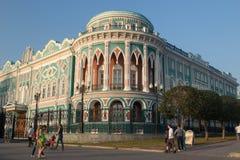 Σπίτι Sevastyanov στοκ φωτογραφία