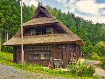Σπίτι Shirakawago στο παραδοσιακό χωριό Στοκ φωτογραφία με δικαίωμα ελεύθερης χρήσης