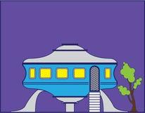 Σπίτι UFO διανυσματική απεικόνιση