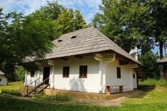 Σπίτι Volovat στο του χωριού μουσείο Suceava Στοκ φωτογραφία με δικαίωμα ελεύθερης χρήσης