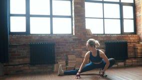 σπίτι workout απόθεμα βίντεο