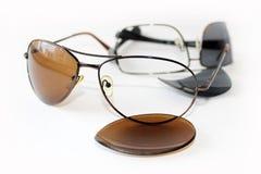 Σπασμένα γυαλιά Στοκ φωτογραφίες με δικαίωμα ελεύθερης χρήσης