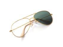 Σπασμένα γυαλιά ηλίου σκουριάς Στοκ Φωτογραφίες