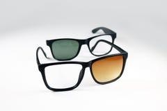 σπασμένα γυαλιά Στοκ εικόνα με δικαίωμα ελεύθερης χρήσης