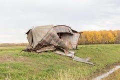 Σπασμένα δοχεία σιταριού Στοκ φωτογραφία με δικαίωμα ελεύθερης χρήσης