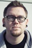 σπασμένα ταραγμένα γυαλιά Στοκ Φωτογραφία