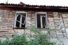 Σπασμένα Windows Στοκ εικόνες με δικαίωμα ελεύθερης χρήσης