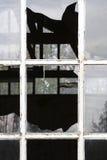σπασμένα Windows Στοκ εικόνα με δικαίωμα ελεύθερης χρήσης
