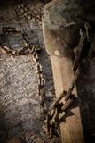 σπασμένες αλυσίδες Στοκ εικόνα με δικαίωμα ελεύθερης χρήσης